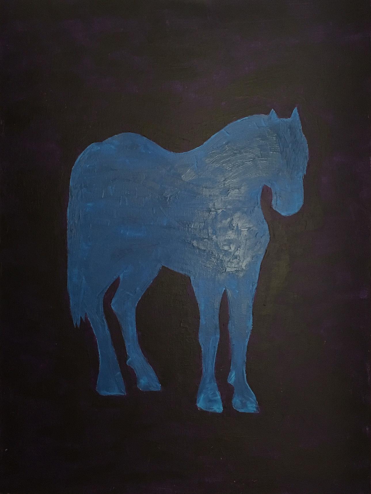 """Ben   Acrylic on canvas 30""""x40"""""""