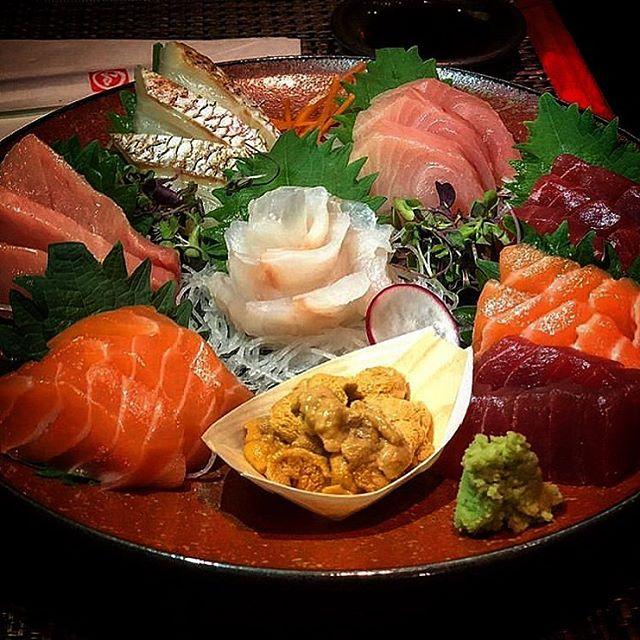 Yummy Sashimi, fresh everyday for everyone. • • • #sashimi #salmon #uni #tuna #redsnapper #fattytuna #chefs #chefstalk #michelinguide #michelininspectors #professionalchefs #zagat #foodporn #newyork_ig #japanesetapas #foodpic #foodgasm #chefofinstagram #michelinrestaurant #michelininspectors #michelinguide  #sobanoodles #yakitori #midtown #nycjapanesefood