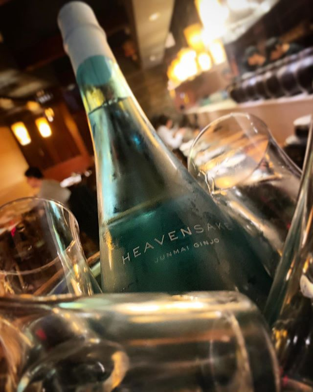 "New sake alert 🚨 ""Heaven Sake""! Come check it out #heavensake #sake"