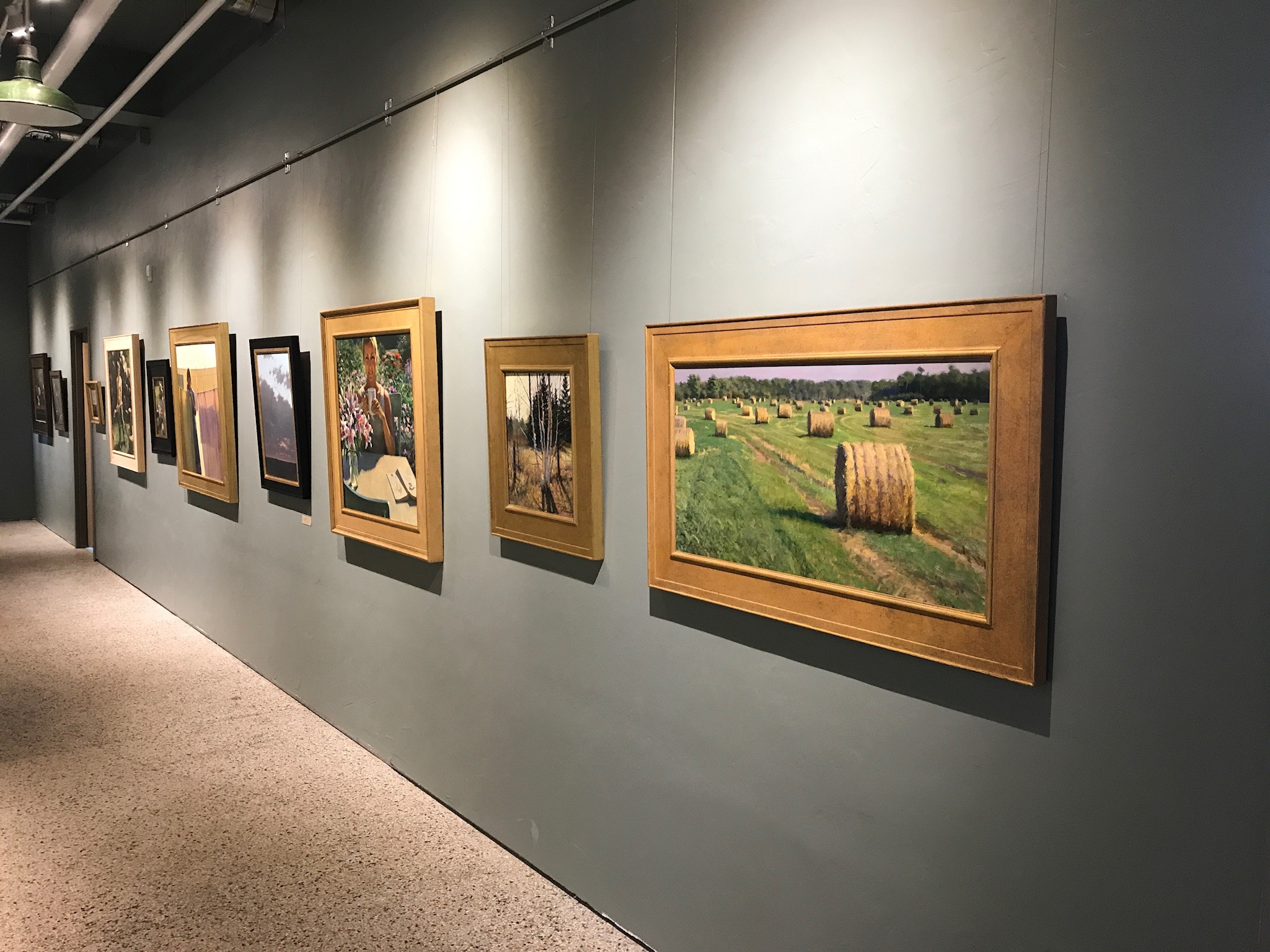 Paintings by Jeff and Brock Larson Featured at Great Lakes Academy of Fine Art's First Annual Open House.