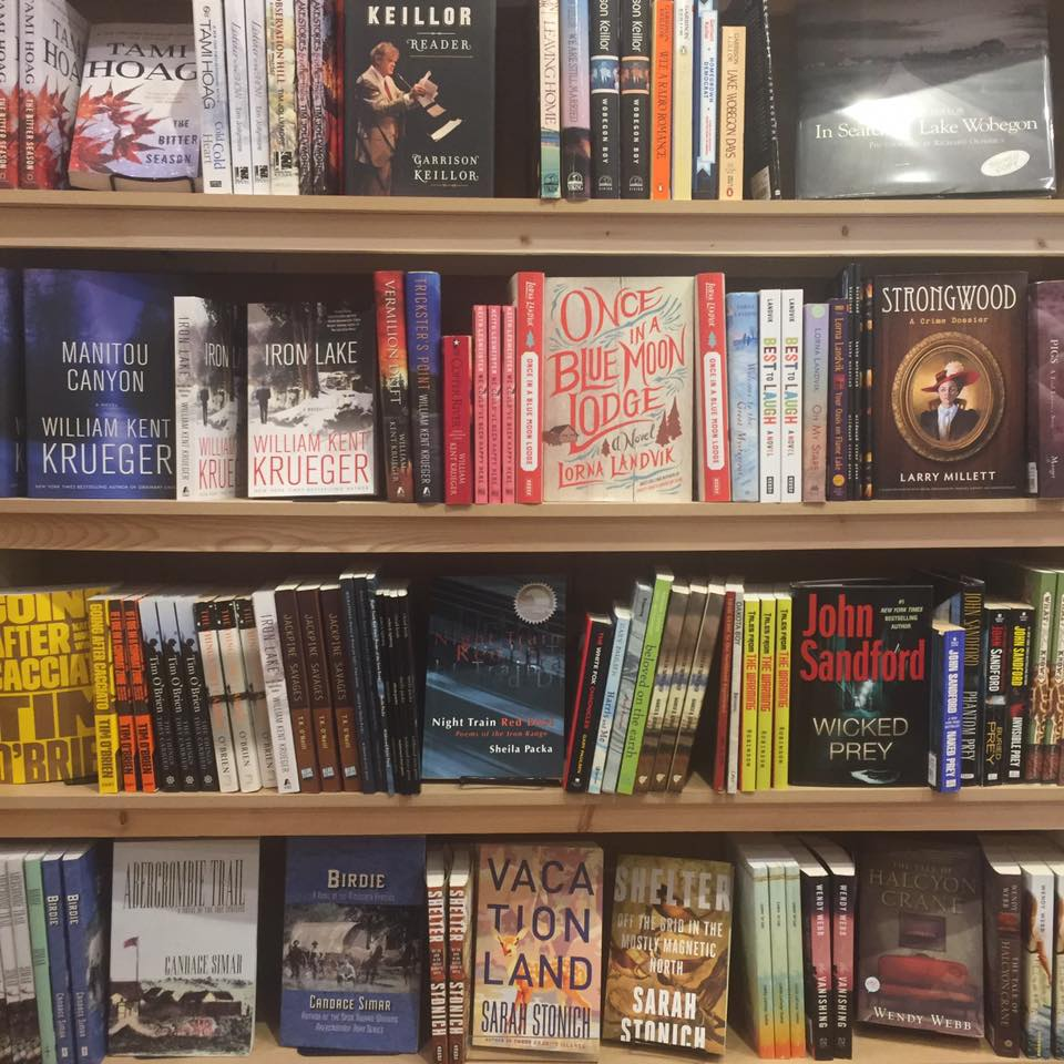 A multitude of local authors are featured at Zenith Bookstore