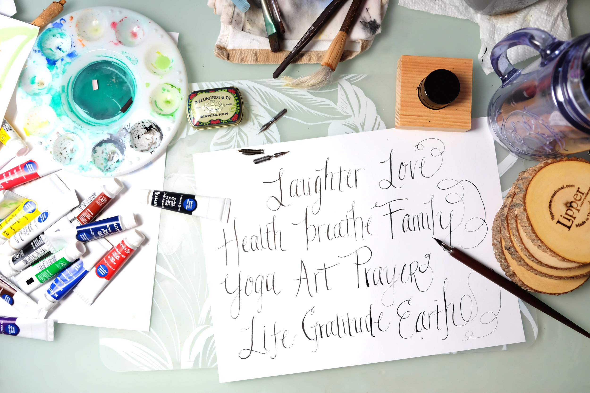 modern calligraphy - I recently started exploring modern calligraphy. I'm still an amateur Calligrapher & YouTuber but you can check out my explorations on my newbie YouTube channel.