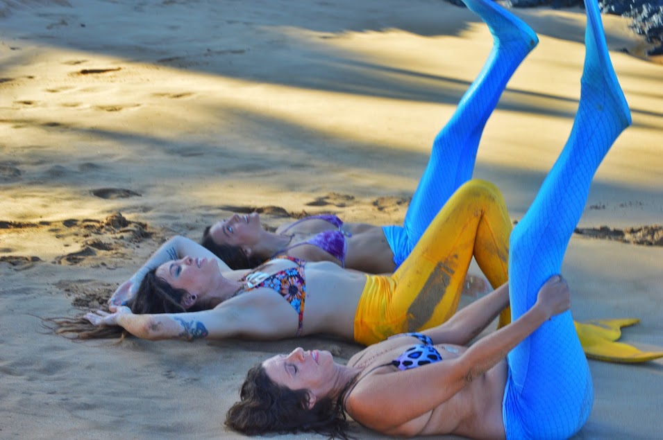Private Group Mermaid Lesson - $139 per person 2-5 people