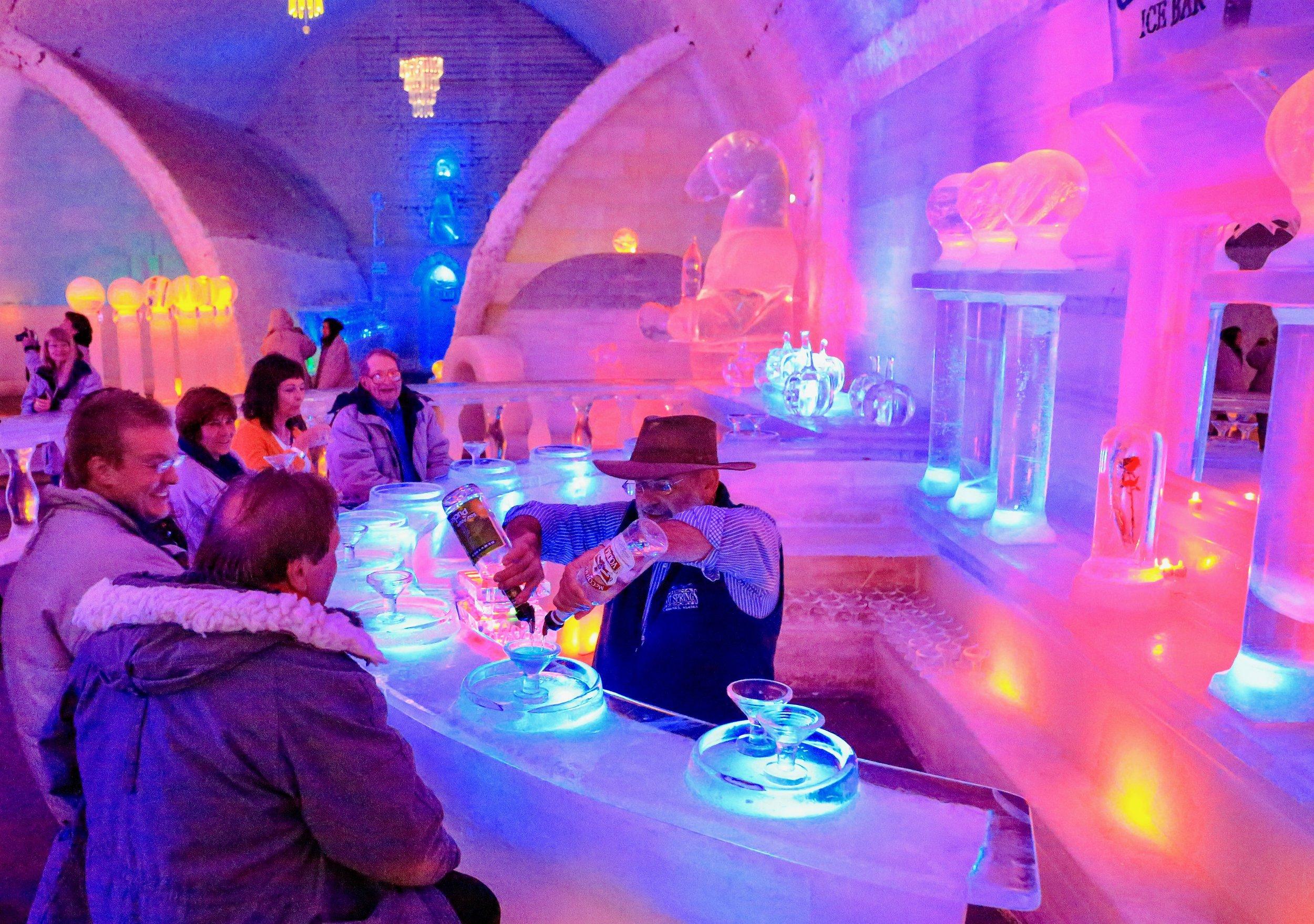 Aurora Ice Museum photo by Gary M Karl