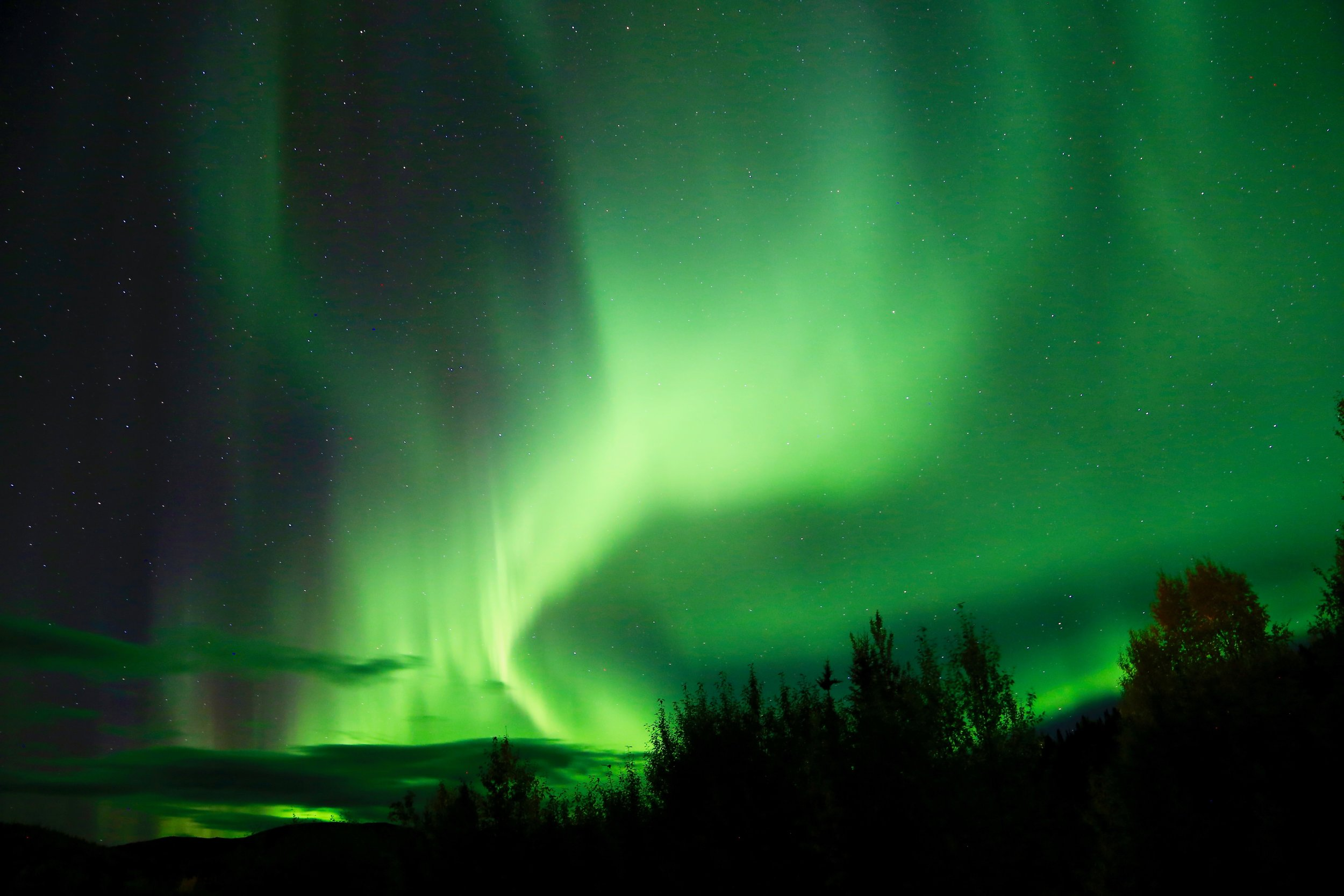 Once in a lifetime experience - Enjoy Northern Light Viewing