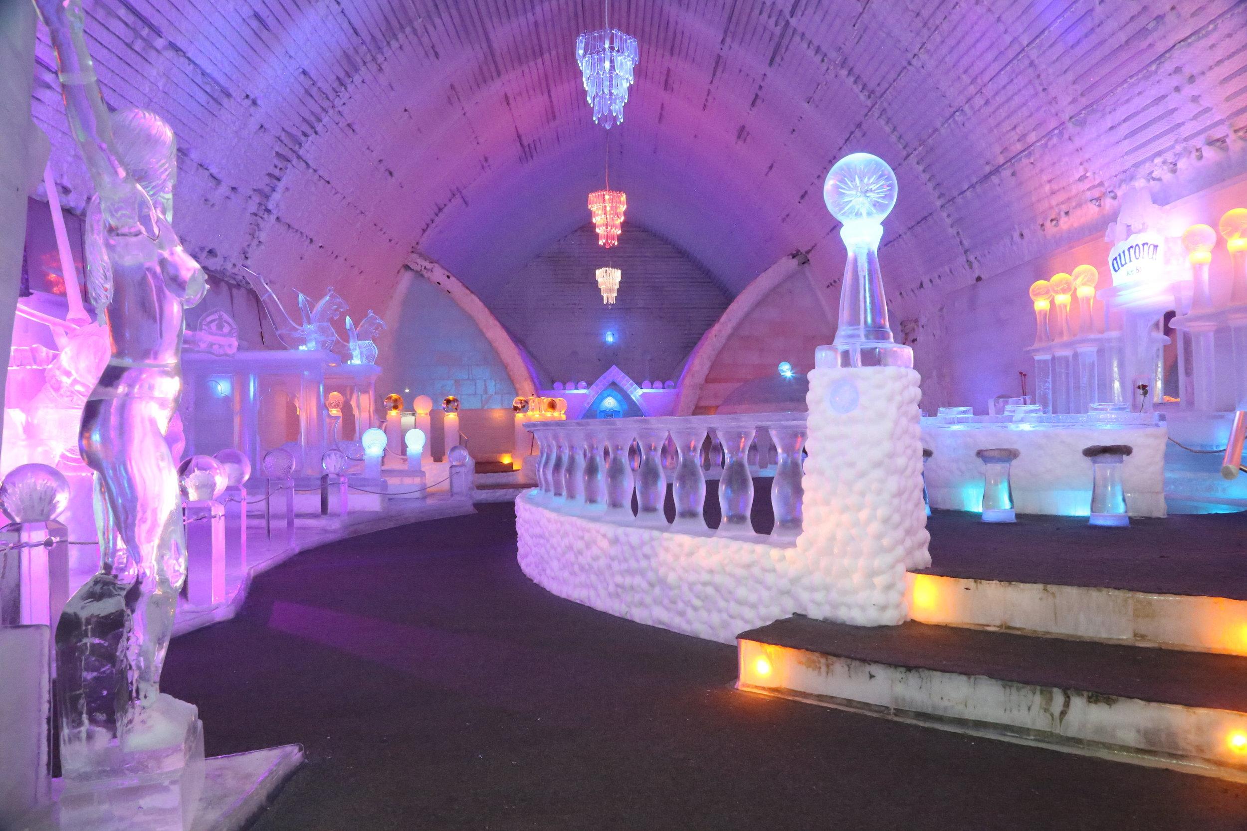 Ice Museum Interior