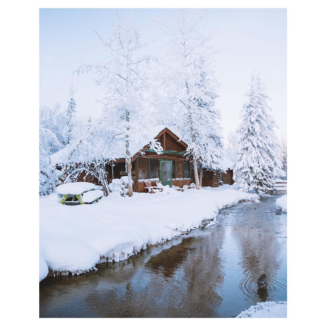 JANUARY Wonder Deal - Discover the beauty of Chena Hot Springs in winter!