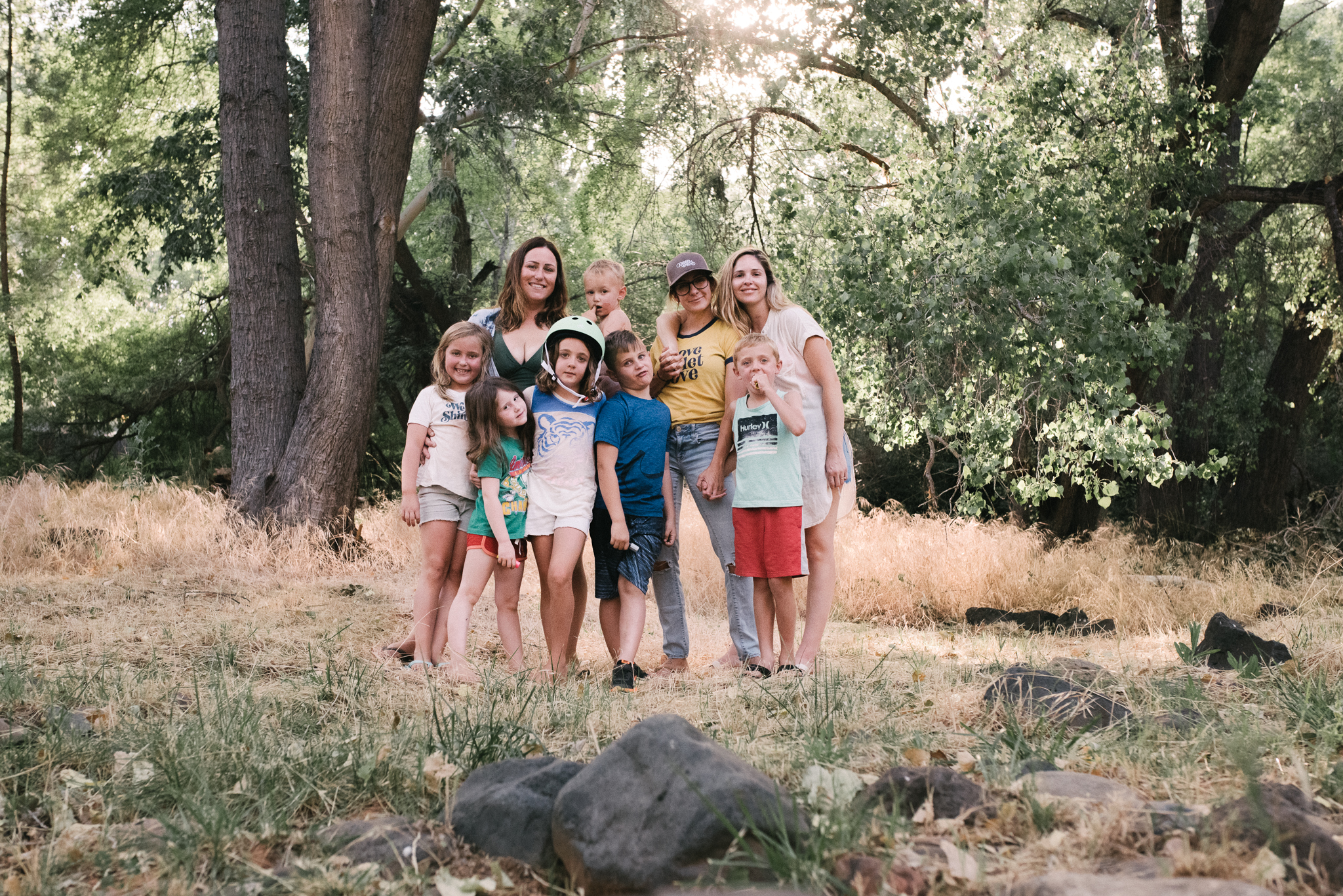 Image from my 35th birthday camping trip. These are my people. Thank you  Melissa  and  Sami , for this and for everything else.