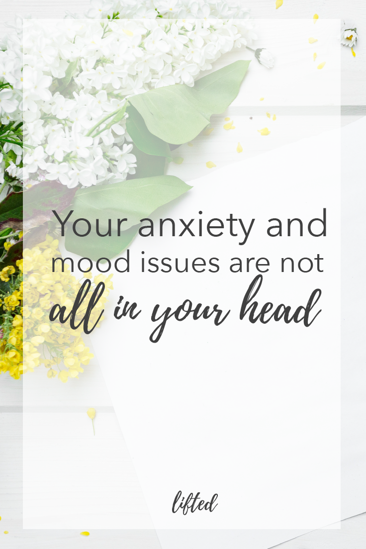 your anxiety and mood issues are not all in your head