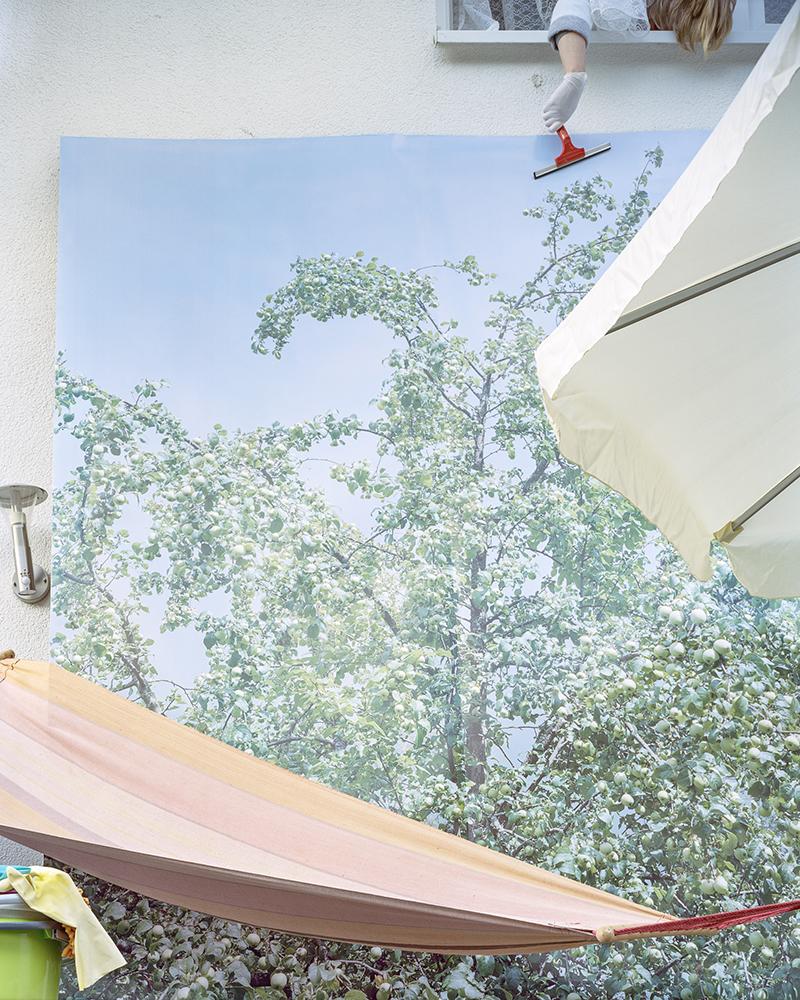 Svetlana Bailey,  hammock , 2016