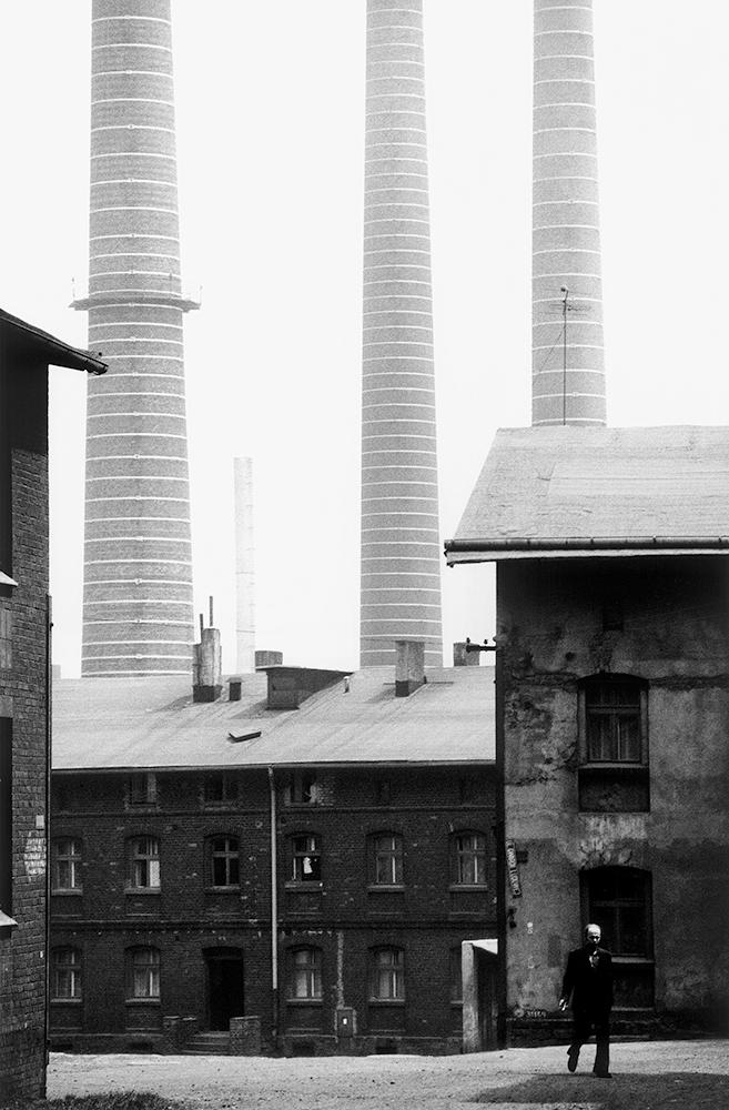 Michał Cała,  A housing estate at the Pokój Steelworks II,  1978