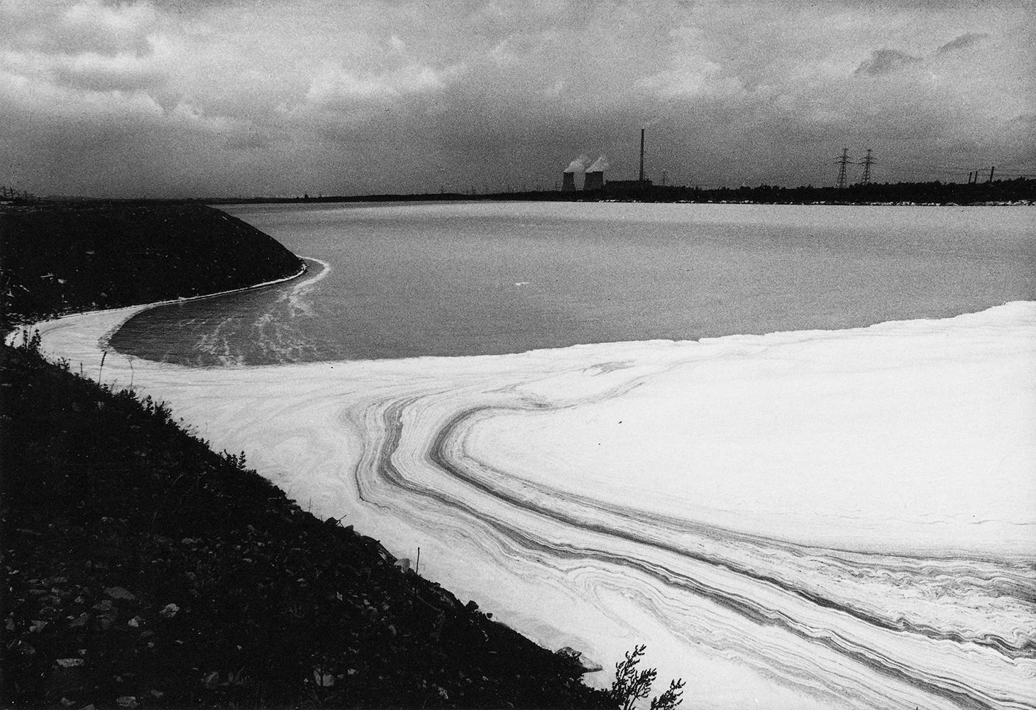 Michał Cała,  A white lake,  1984