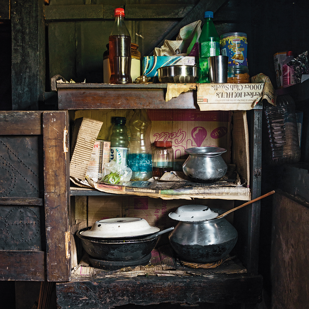 Karolin Klüppel,  Mebadas's food cupboard , 2014