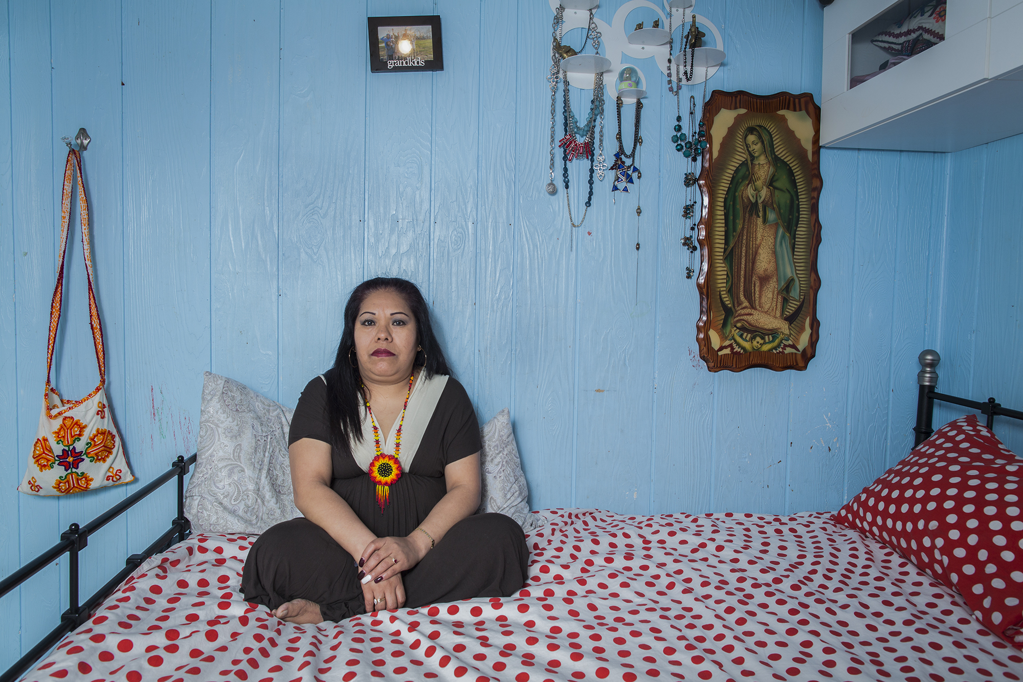 """Eugenia Cayetano is an immigrant from the state of Michoacán, México, born in a Mazahua indigenous family. Eugenia has been living in New York for 24 years and is part of a cleaning workers' cooperative named """"Si se puede,"""" based in Sunset Park, Brooklyn."""