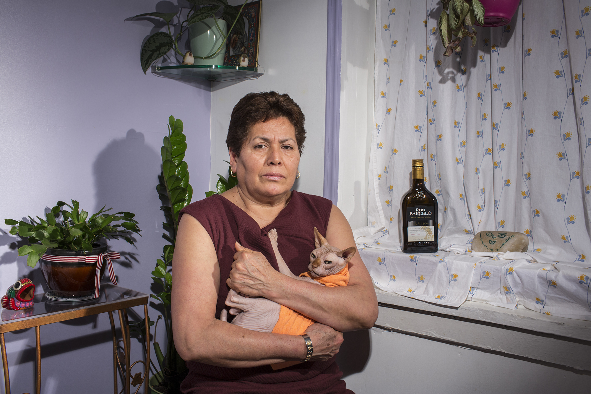 """Guadalupe Lara is an activist. After Hurricane Sandy in 2012, she became involved in the church of Saint Jacobi, where she is the president of the church council, the main hub of what came to be known as """"Occupy Sandy."""" She organized and coordinated the food supplies to provide food and help to the victims of the hurricane. Lupe likes to go to the casinos."""