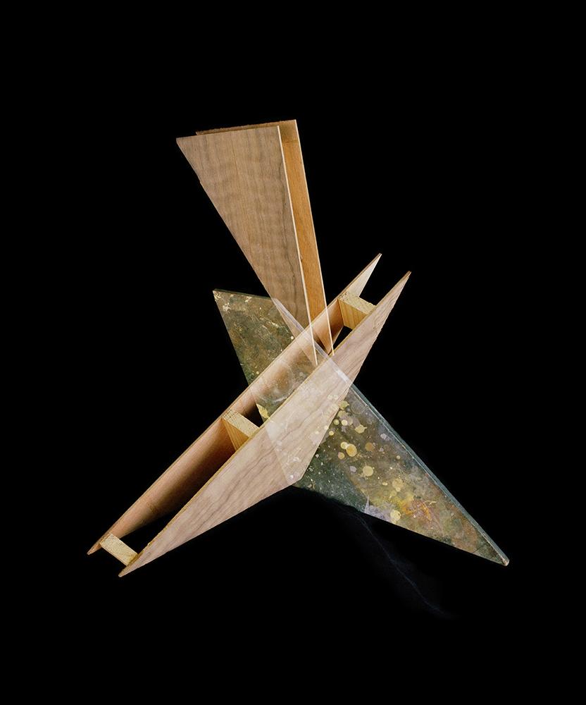 Alejandra Laviada,  Interlocking Triangles,  2014