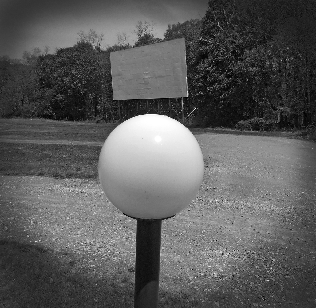 Julie Mihaly,  Drive-In Movie Theater, Hyde Park, NY , 2015