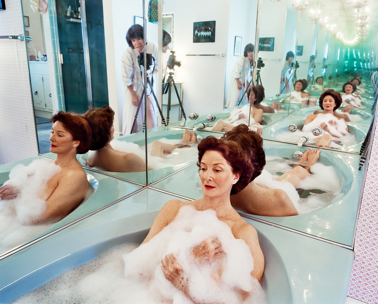 Sage Sohier,  Mum in her bathtub, Washington, D.C. , 2002