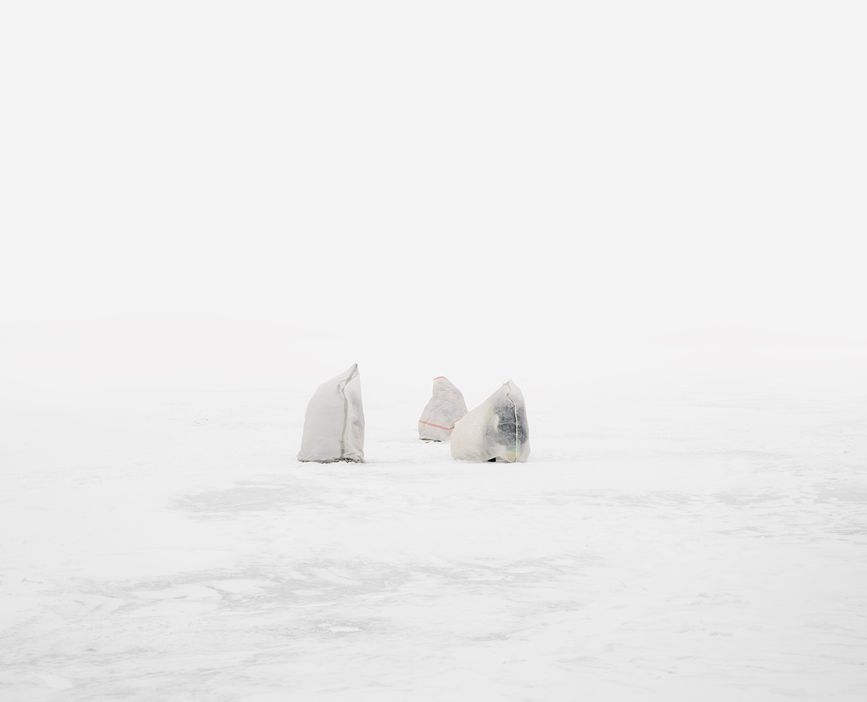Untitled  from the series  Ice Fishers , 2016