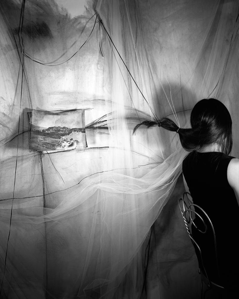 Lauren Semivan,  Landscape with Alison,  2009. Archival pigment print.
