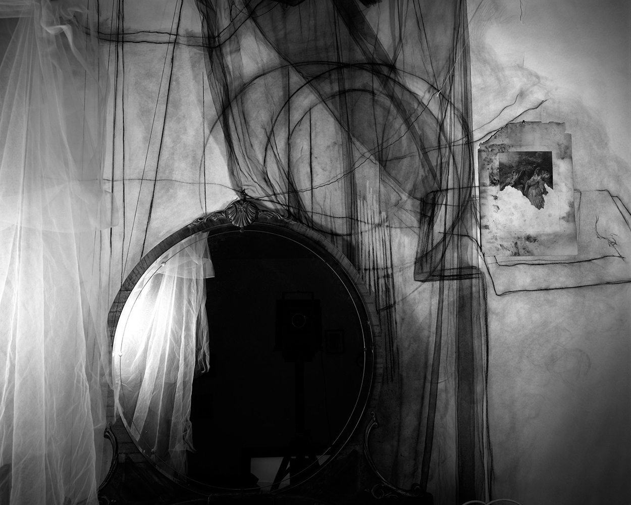 Lauren Semivan,  Mirror,  2010. Archival pigment print.
