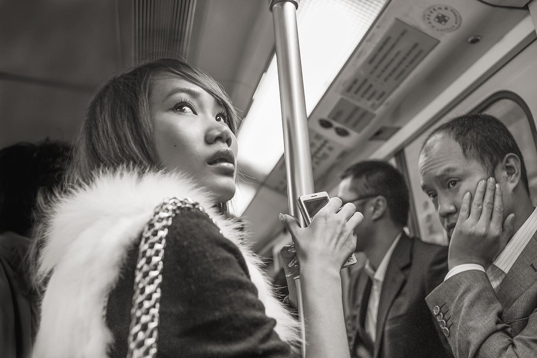 Stan Raucher,  Line 1 near People's Square, Shanghai , 2009