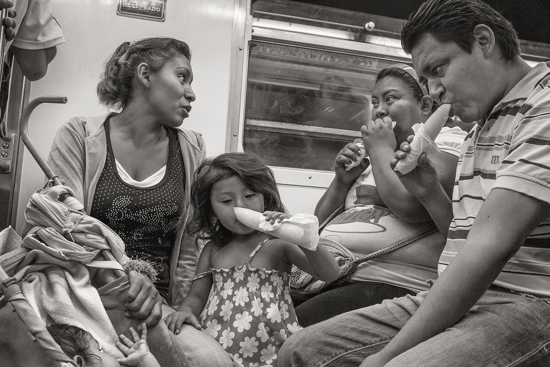 Stan Raucher,  Line 8 near La Viga, Mexico City , 2014