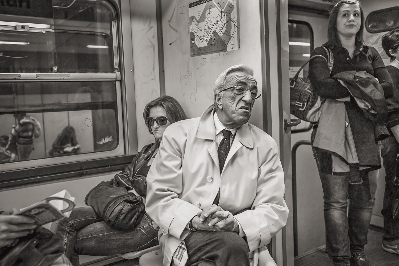 Stan Raucher,  Line 2 at Montesanto, Naples , 2011