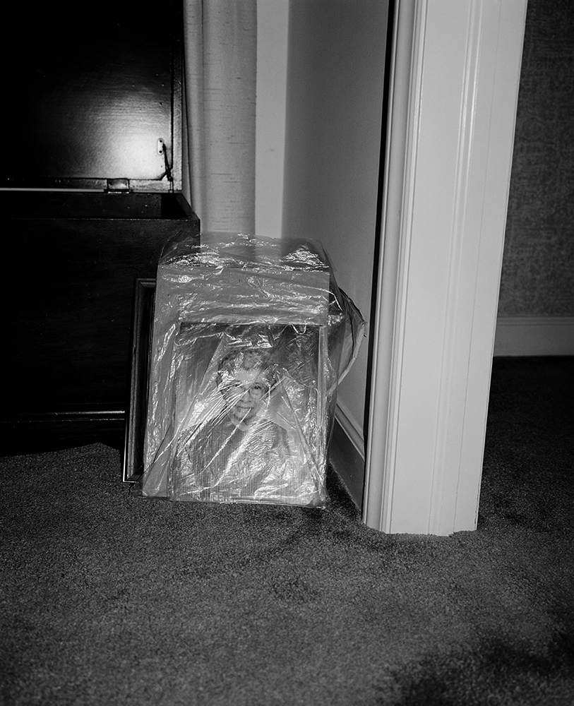 Matt Eich,  Plastic Wrapped Memory, Winston-Salem, North Carolina , 2017