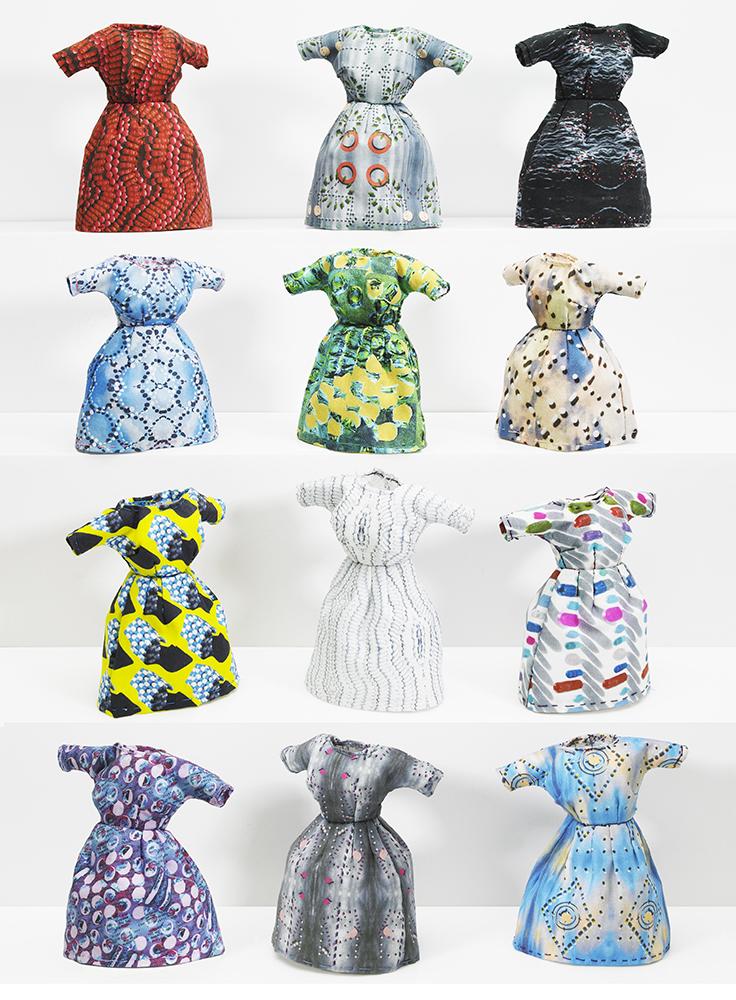 Tamara Staples,  Pill Dresses Print , 2018