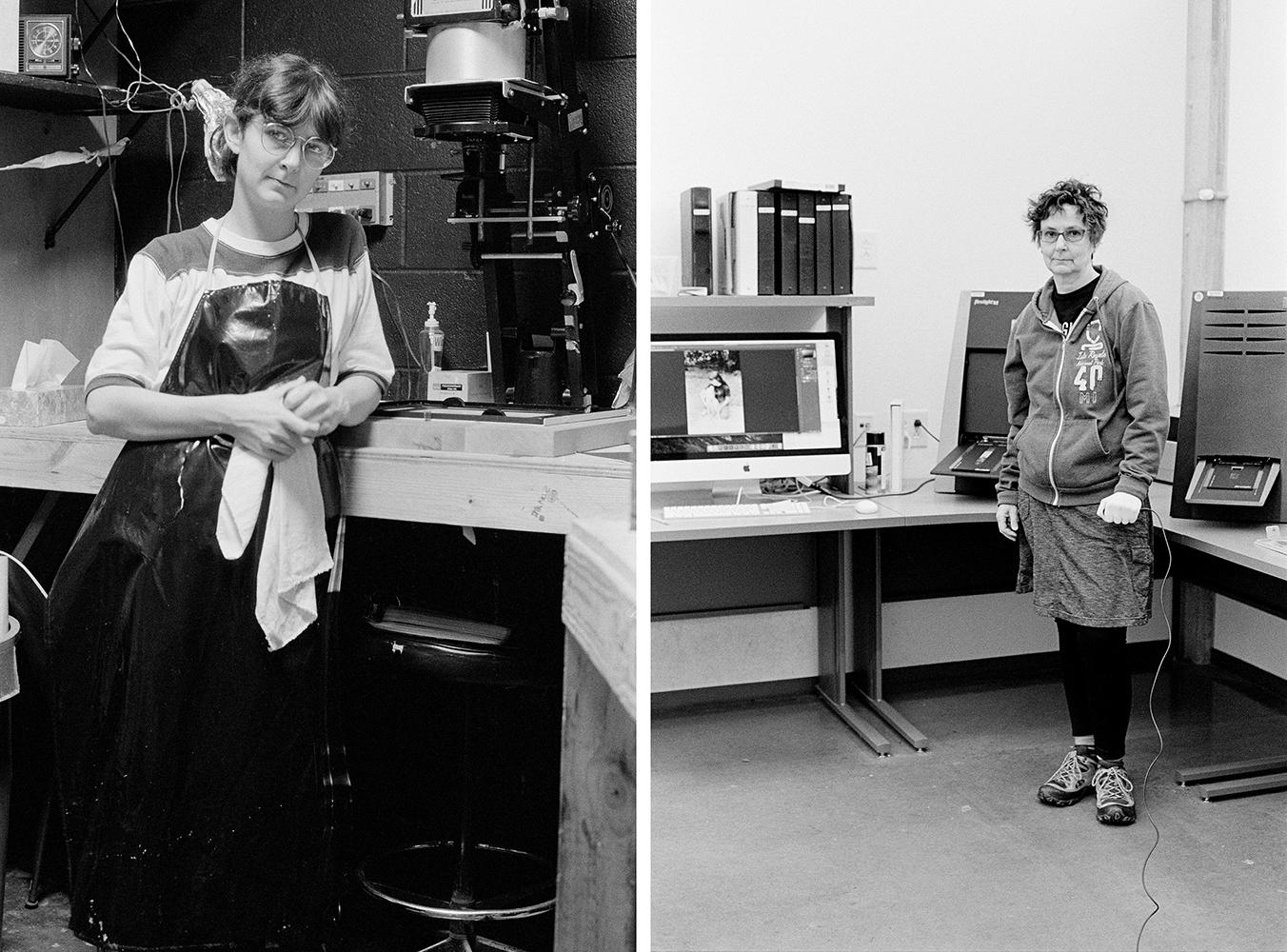 Nancy Floyd,  Evolution of the Darkroom 1983-2016,  2015