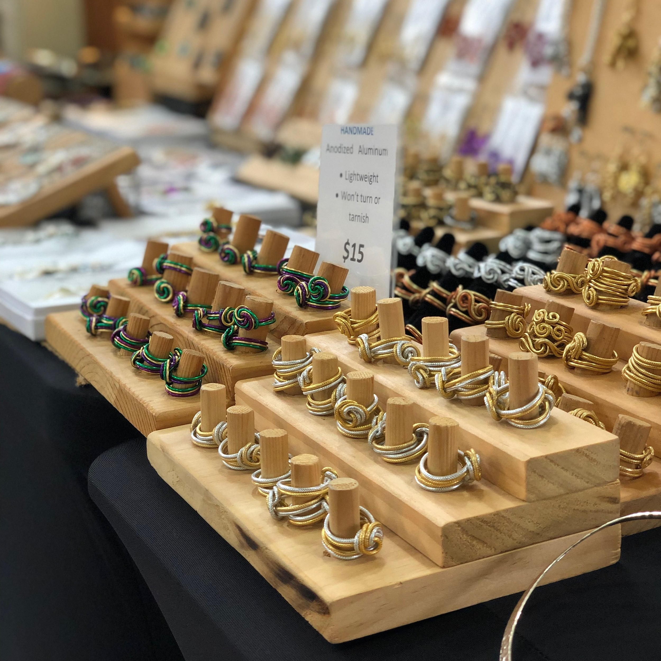 Jewelry at French Market