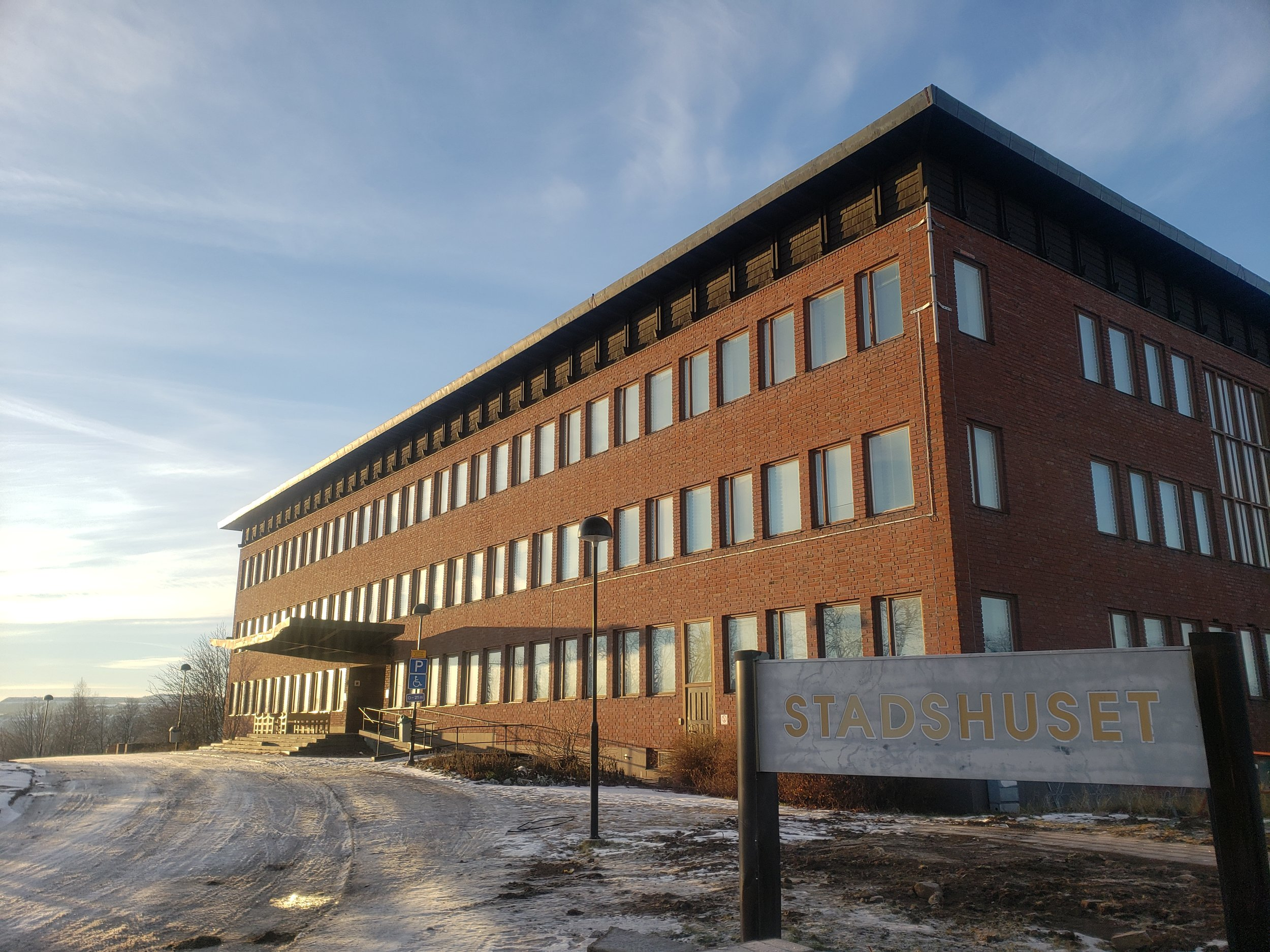 Abandoned Kiruna City Hall scheduled to be demolished