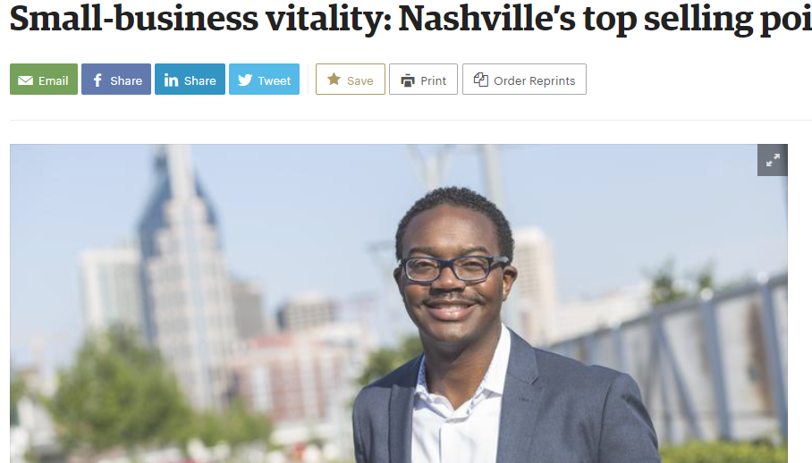Read full article  HERE  from the  Nashville Business Journal  article.