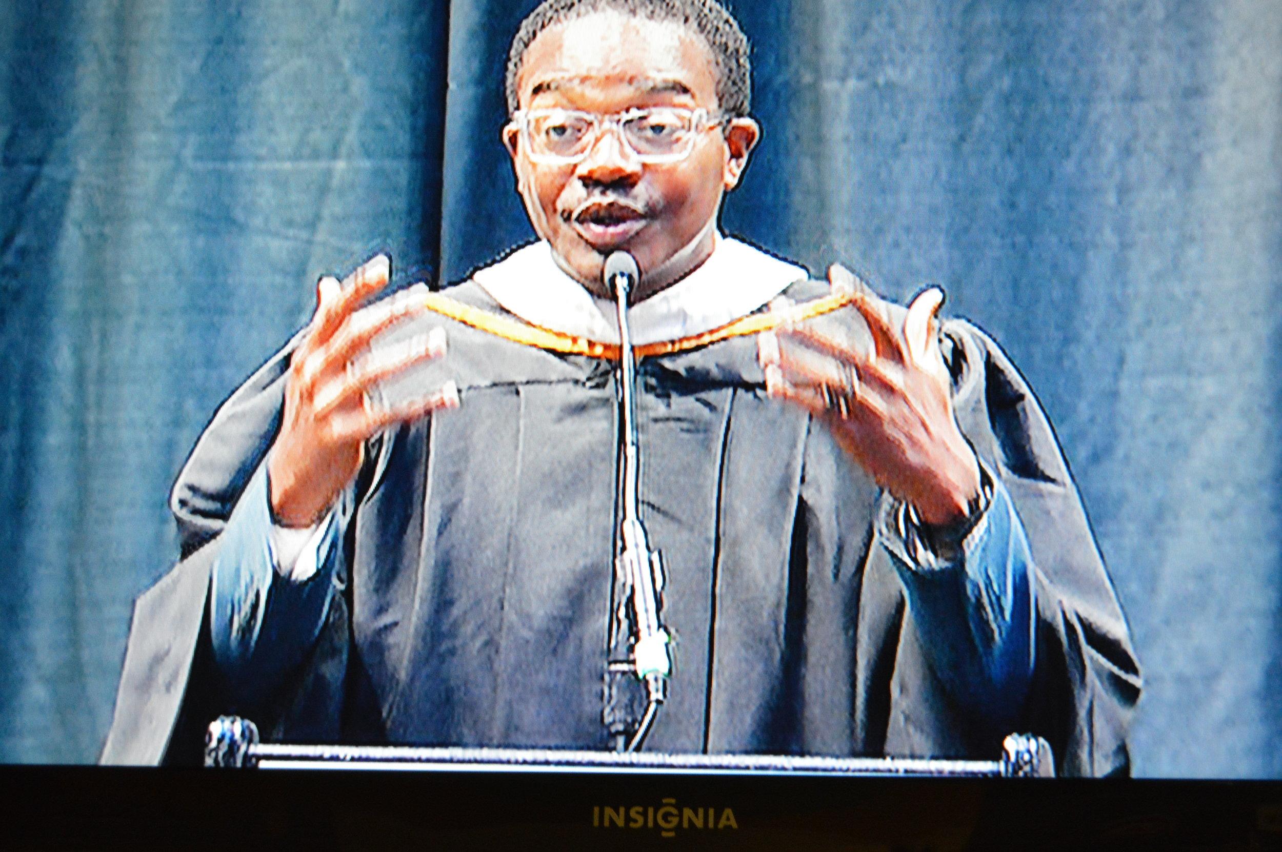 Keynote Speaker at Hume-Fogg Academic High School