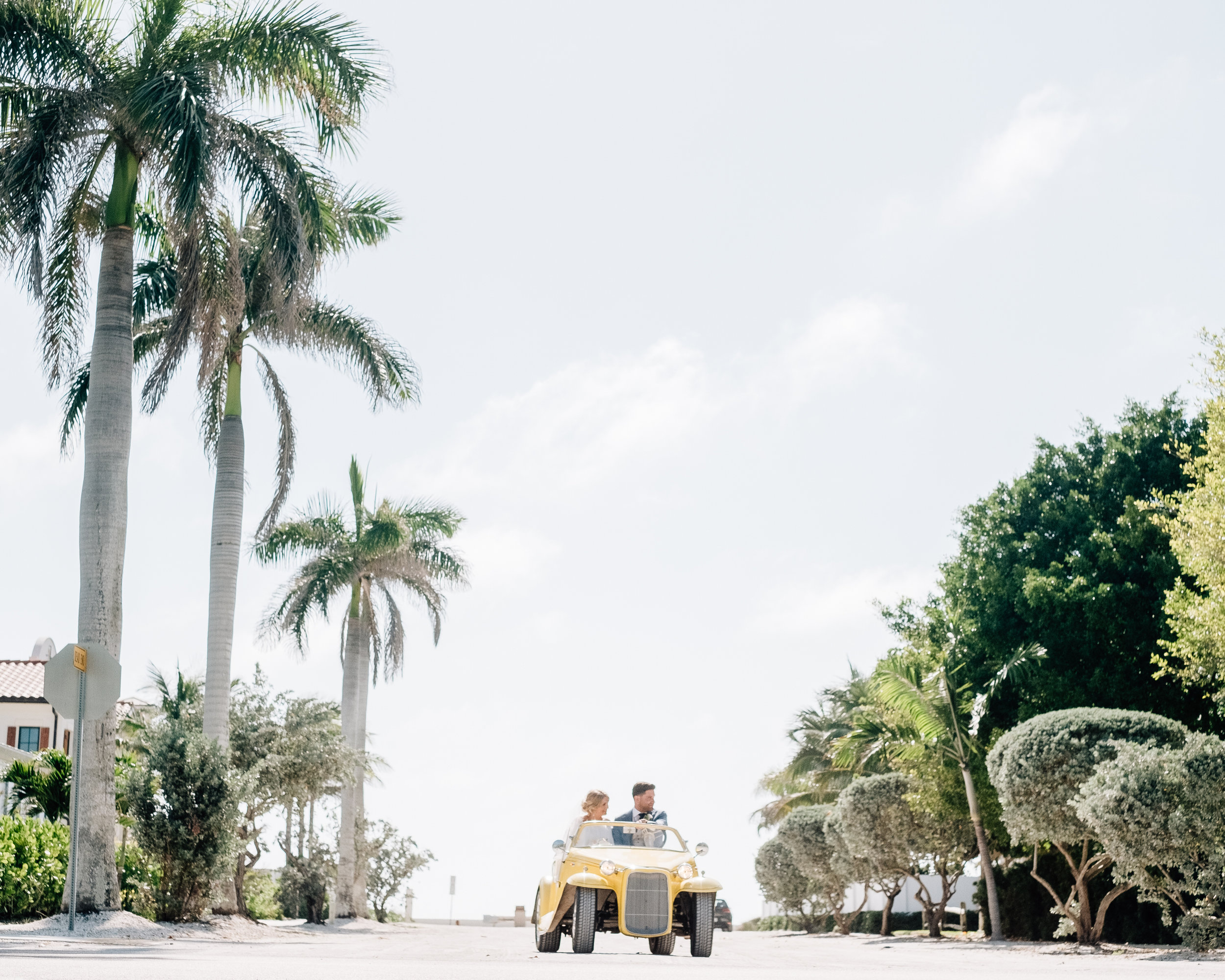 Boca Grande Wedding Exit