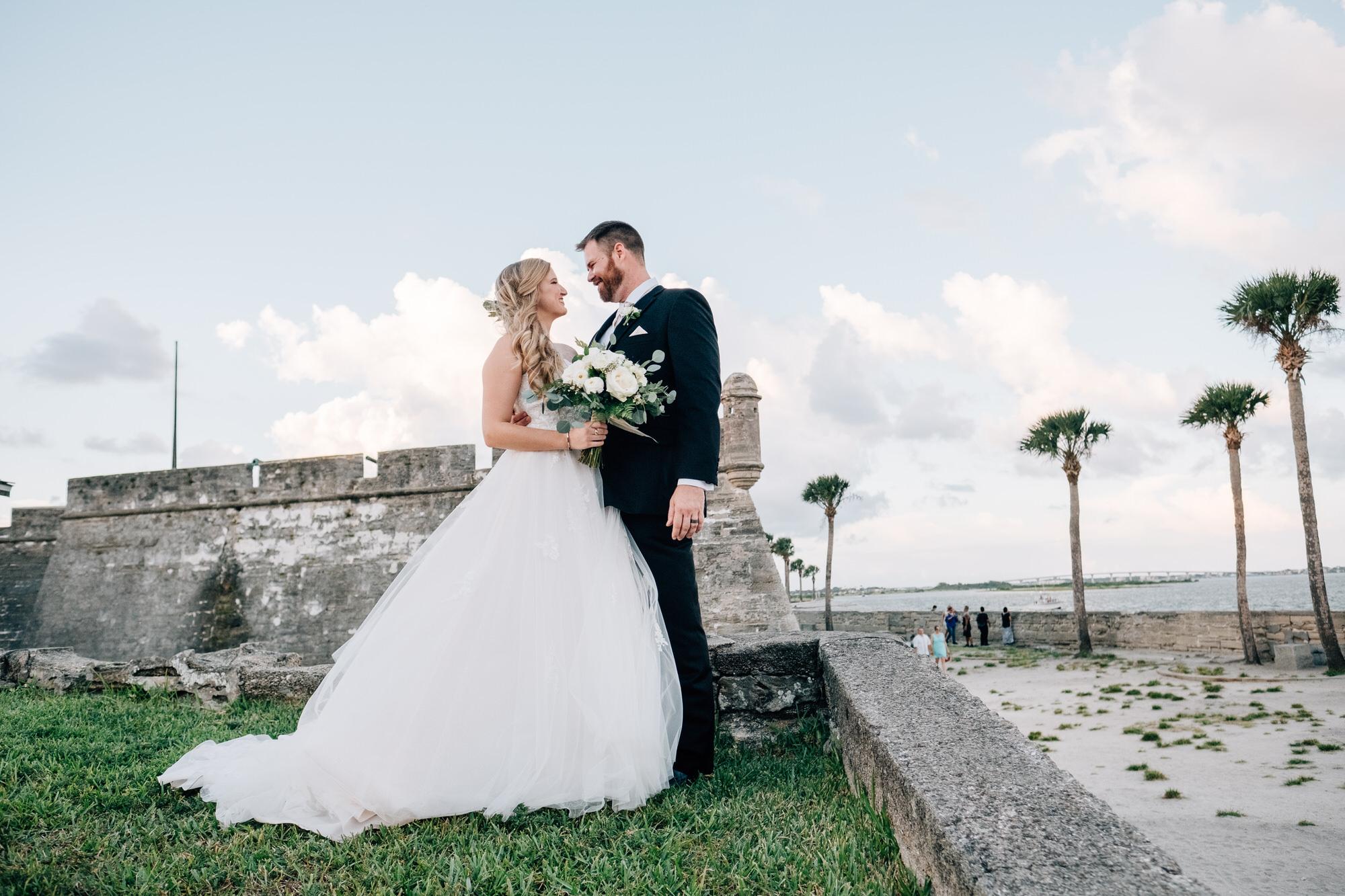 Castillo De San Marcos St. Augustine Wedding 003