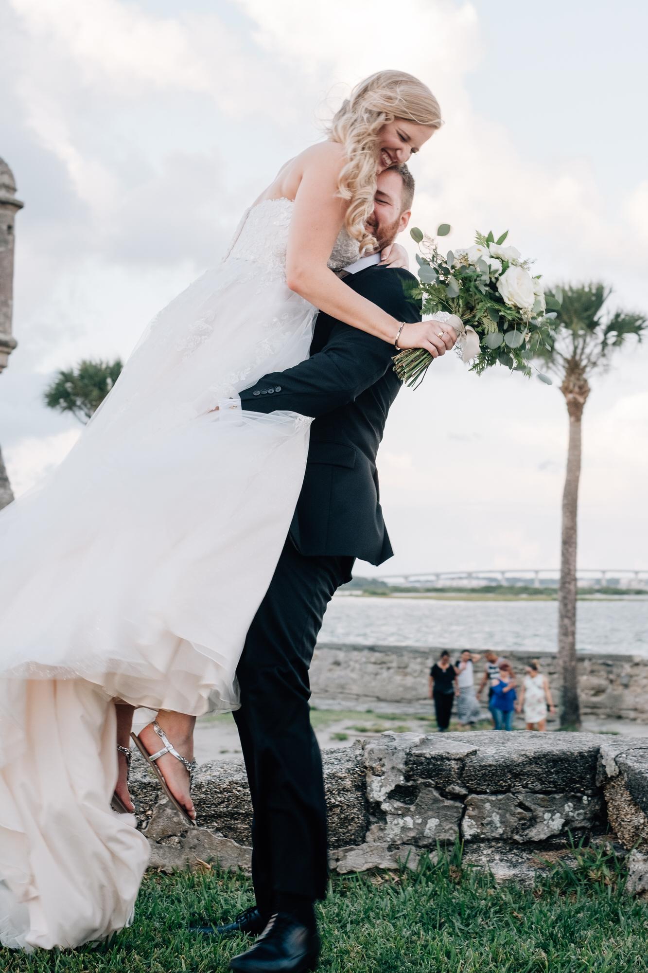 Castillo De San Marcos St. Augustine Wedding 004