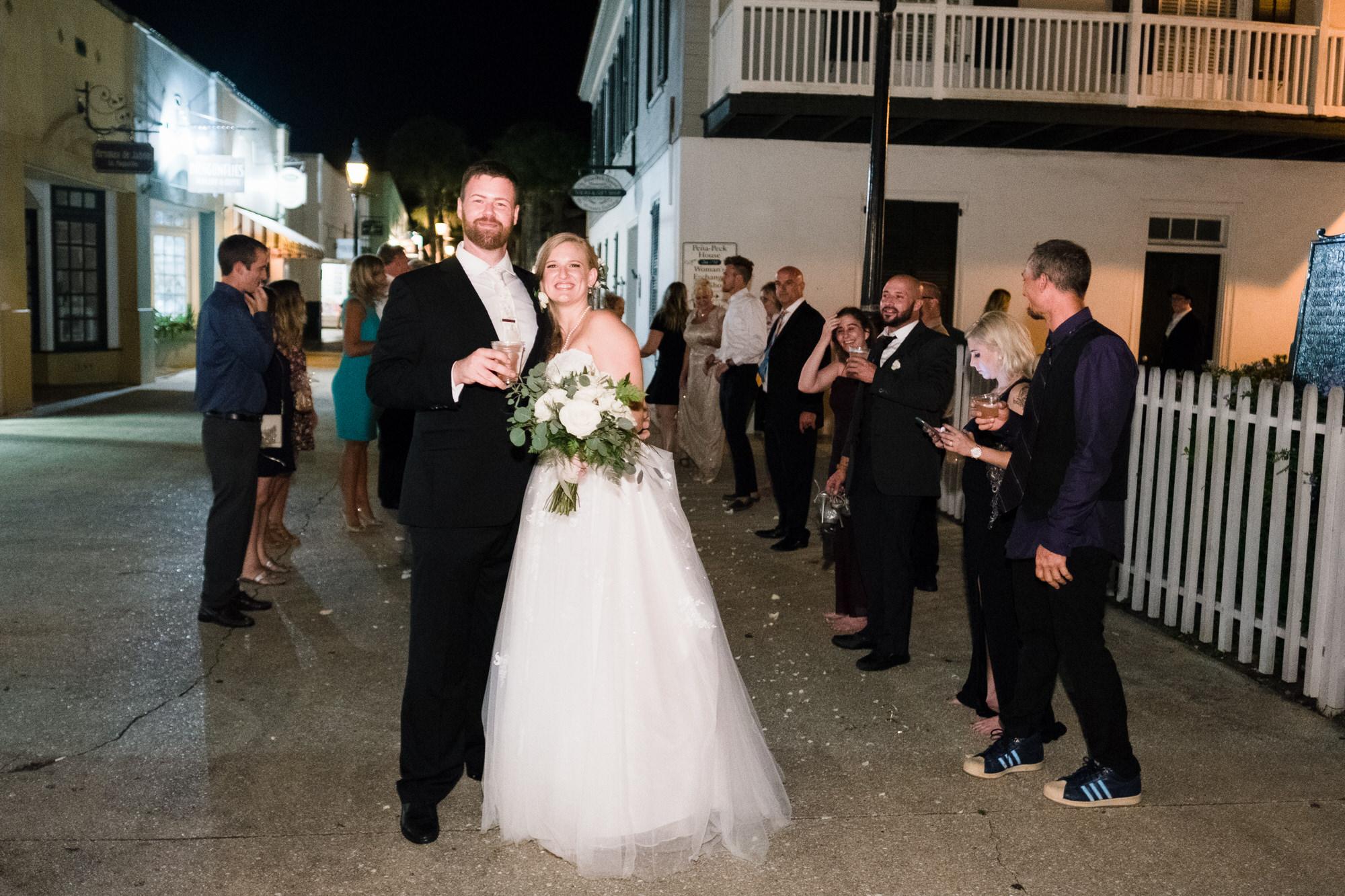 Pena Peck House St. Augustine Wedding