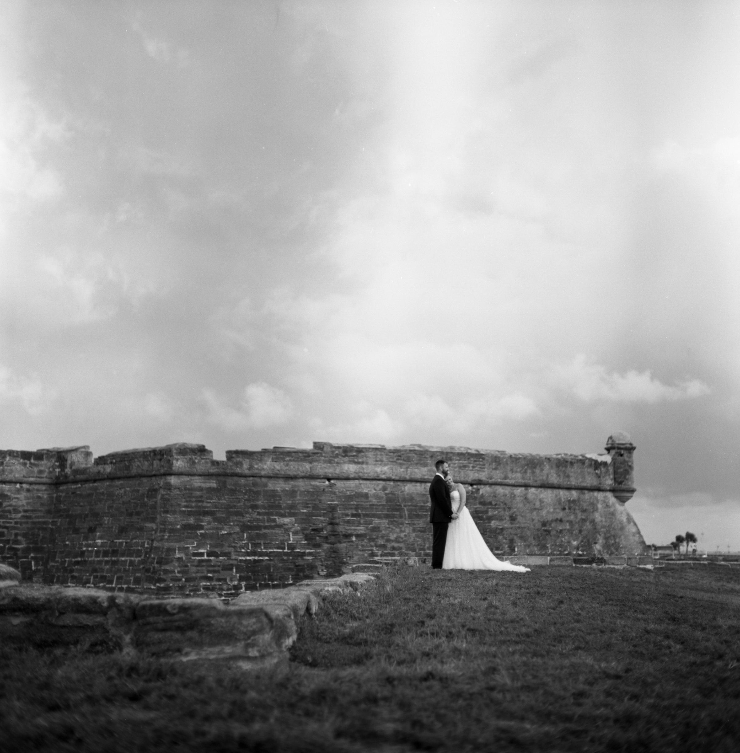 Castillo De San Marcos Wedding Photo 001