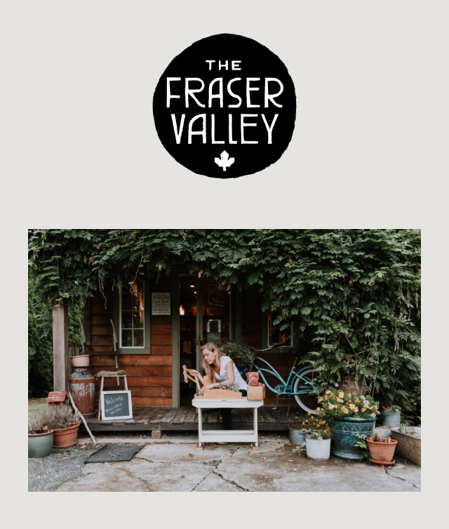 The Soap Shack - Thanks to The Fraser Valley for the interview & taking the time to get to know us!