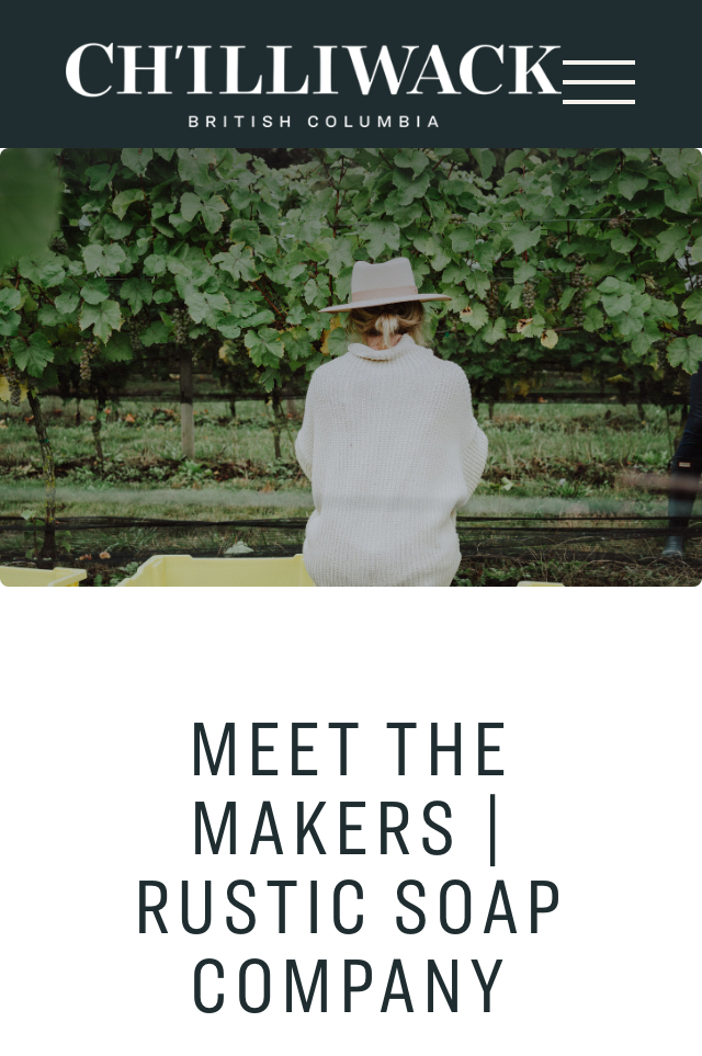 """Meet the Makers Series - What a privilege being involved in Tourism Chilliwack's """"Meet the Makers Series""""!"""