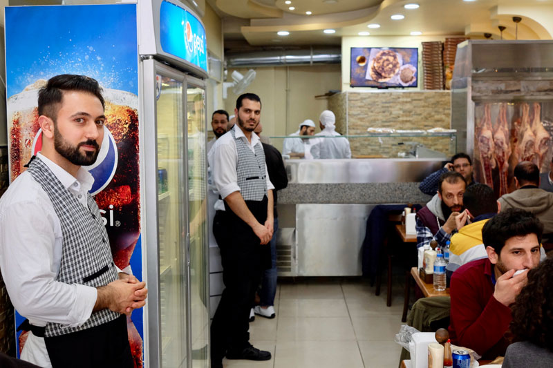 """Saruja is situated in the heart of Istanbul's """"Little Syria"""", where dozens of Syrian eateries have opened. (Photo by Paul Benjamin Osterlund)"""