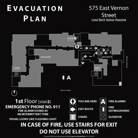emergency evacuation maps -