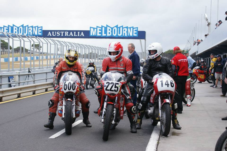 With Team USA, Philip Island classic GP
