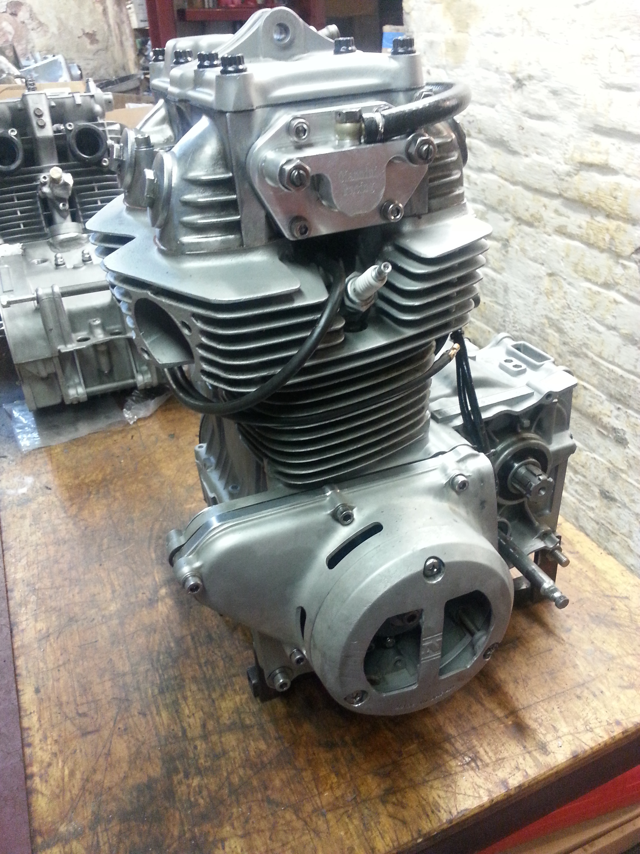 CB350 Engine ready to rev