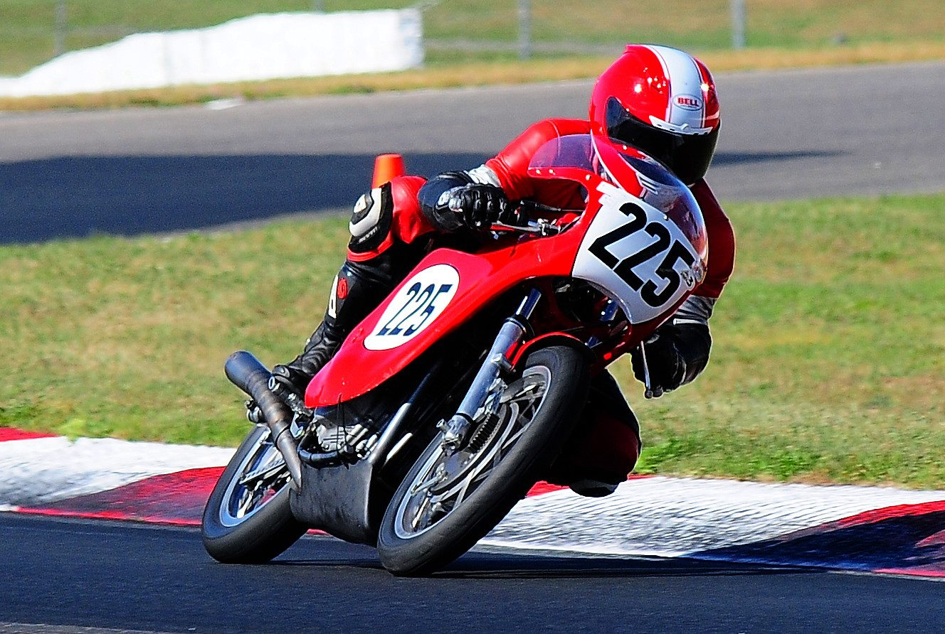 Flying at NJMP