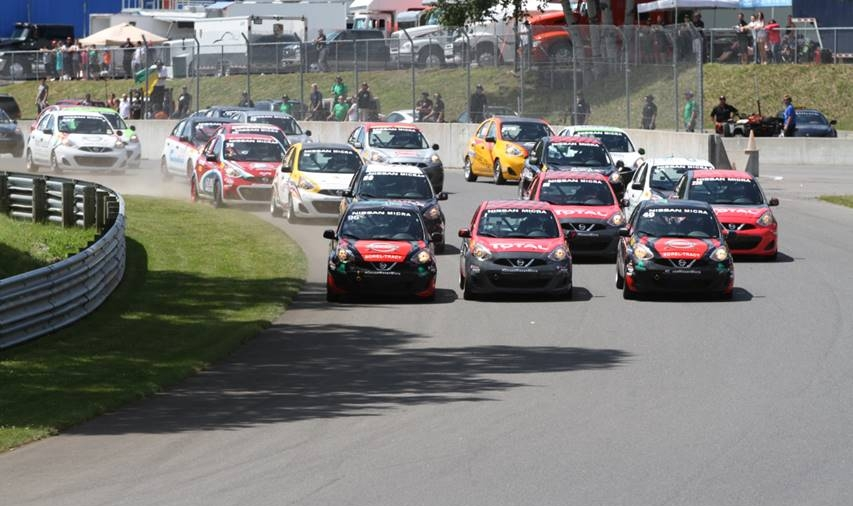 Plenty of action in Race 1 (Photo:  Nissan Micra Cup Facebook )