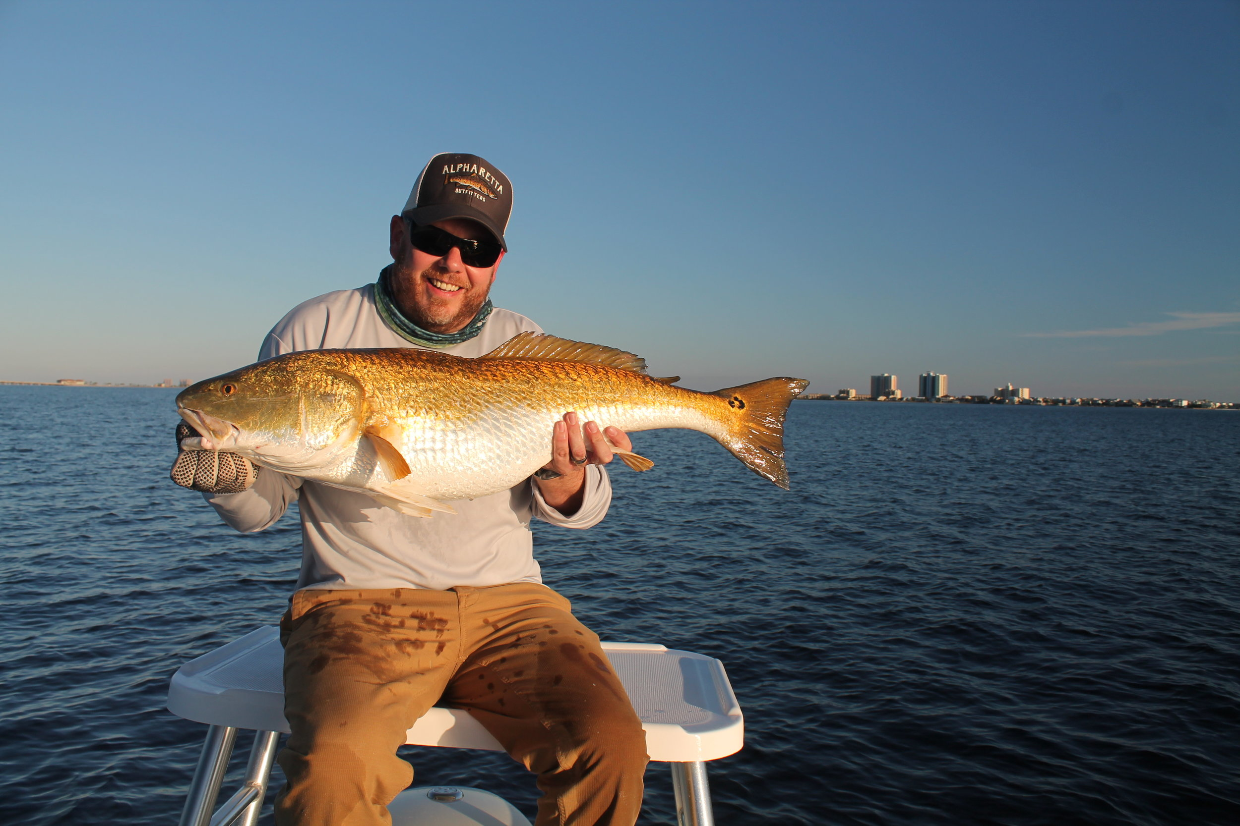 Fly Fishing Pensacola, Redfish on fly inshore saltwater fly fishing, pensacola, pensacola bay, Pensacola beach.