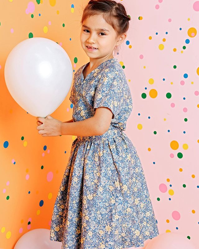 Shanghai Studio: some official photos from our Sewing Camp photoshoot ! We are making the wrap dress in our kids camp next week! who wants one??